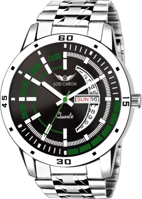 Lois Caron LCS-8185 DAY & DATE FUNCTIONING WATCH Analog Watch  - For Men