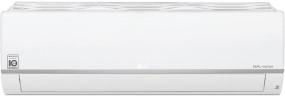 LG 1.5 Ton 5 Star Split Dual Inverter Smart AC with Wi-fi Connect - White(LS-Q18SWZA, Copper Condenser)
