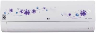 LG 1.5 Ton 5 Star Split Dual Inverter AC - White(LS-Q18FNZD, Copper Condenser)