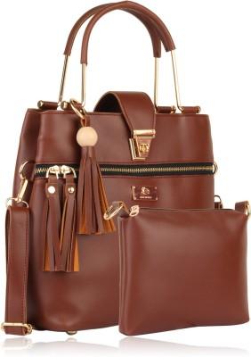 Women Marks Women Brown Hand-held Bag
