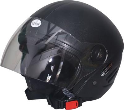 GLOWRY TRK-TRK-01 Motorbike Helmet(Black)