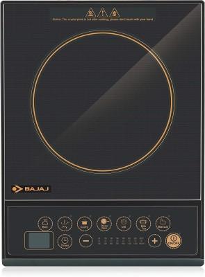 Bajaj ICX 130 Induction Cooktop(Black, Push Button)
