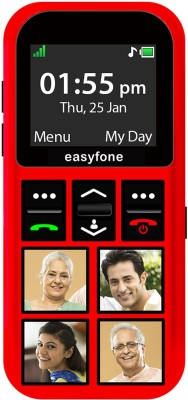 Easyfone Star(Rocket Red)