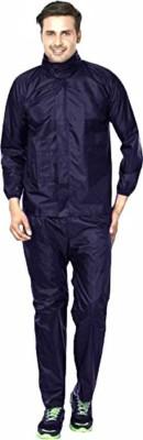 RAARIVY Solid Men Raincoat