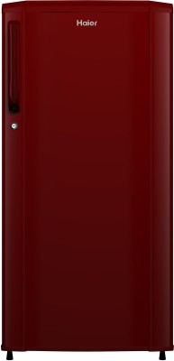Haier 190 L Direct Cool Single Door 2 Star Refrigerator(Burgundy Red, HED-19TBR)