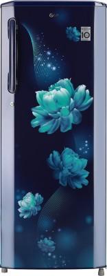 LG 270 L Direct Cool Single Door 3 Star Refrigerator Blue Charm, GL B281BBCX LG Refrigerators