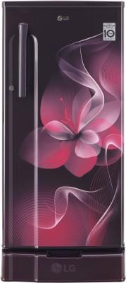 LG 188 L Direct Cool Single Door 3 Star  2020  Refrigerator Purple Dazzle, GL D191KPDX LG Refrigerators