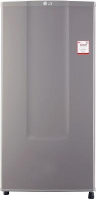 LG 185 L Direct Cool Single Door 1 Star  2020  Refrigerator with Base Drawer Dim Grey, GL B181RD GB