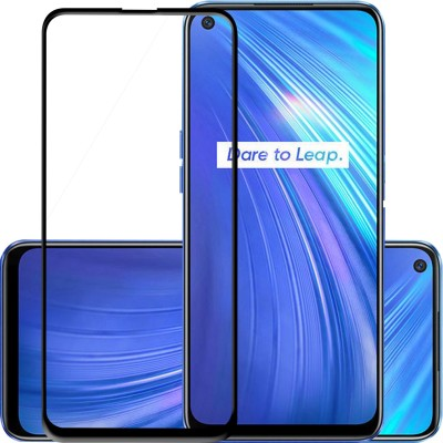 Knotyy Edge To Edge Tempered Glass for Realme 6(Pack of 1)