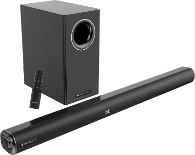 Zebronics Zeb-Juke Bar 6000DWS-Pro 160 W Bluetooth Soundbar(Black, 2.1 Channel)
