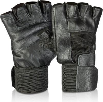 Nova Play Gym & fitness gloves Gym & Fitness Gloves(Black)