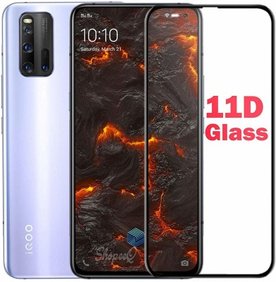 LIKEDESIGN Edge To Edge Tempered Glass for Vivo iQOO 3(Pack of 1)
