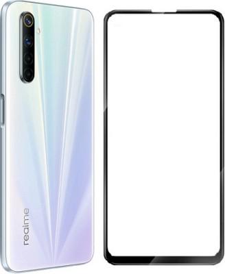 Karirap Edge To Edge Tempered Glass for Realme 6, Realme 6i, Realme 7, Realme 7i, Realme Narzo 20 Pro(Pack of 1)