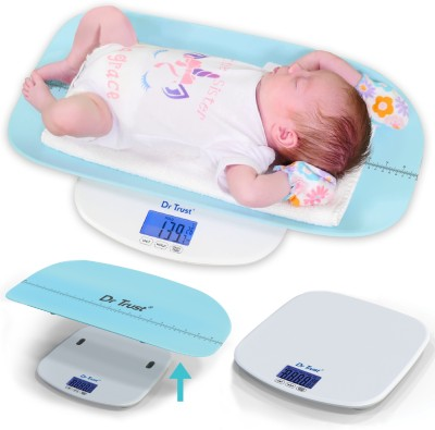 Dr. Trust (USA) Digital Personal Baby Grow Buddy Infant, Toddler and Adult Human Body Weight Electronic Machine with Tray Weighing...