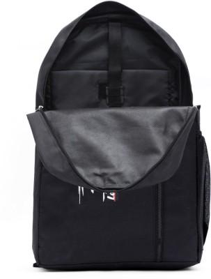 LeeRooy bg26blknajjs 30 L Laptop Backpack Black