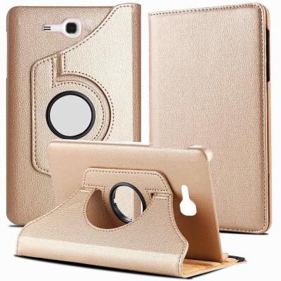 TGK Book Cover for Samsung Galaxy TAB 3, TAB 3V, SM- T116, SM- T113, SM- T110, SM- T111 (7.0 inch NEO Lite)(Gold)