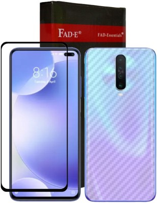 FAD-E Front and Back Screen Guard for Xiaomi Poco X2(Pack of 2)