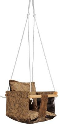 Swingzy Cotton, Wooden Hammock(Brown)