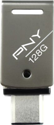 PNY Duley C-Type 128 GB Pen Drive(Multicolor)