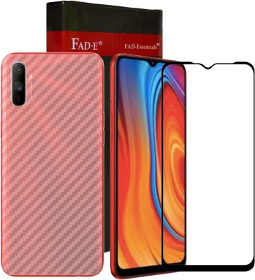 FAD-E Front and Back Screen Guard for Realme C3(Pack of 2)