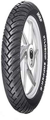 MRF wheeler 72 100 90 18 33 Front   Rear Tyre Street, Tube Less MRF Bike Tyres