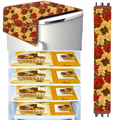 LooMantha Fridge Mat(Multicolor)