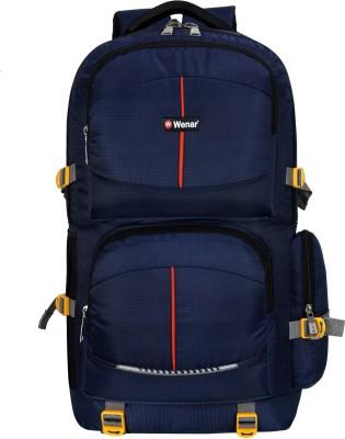 Wenar Ltrs Trendy Camouflage Expandable Backpack Trekking Bag Rucksack - 55 L (Blue) Rucksack  - 55 L(Blue)