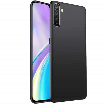 Cover Alive Back Cover for Realme 6 Pro(Black, Grip Case)