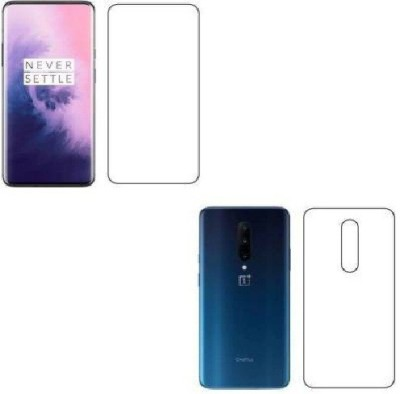 Assault Front and Back Screen Guard for One Plus 7 Pro(Pack of 2)