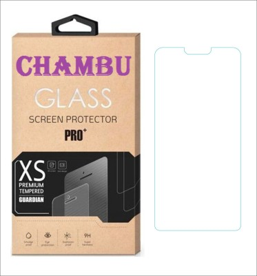 CHAMBU Tempered Glass Guard for Micromax Canvas 2 A120 Colours (8GB)(Pack of 1)