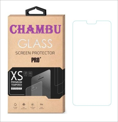 CHAMBU Tempered Glass Guard for Micromax Bolt A67(Pack of 1)