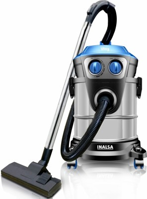 Inalsa Ultra WD21 Wet & Dry Vacuum Cleaner(Black, Blue)