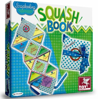 ToyKraft Squashbook - Scrapbooking Activity - Making a foldable daily reckoner, album or card - for 6 year-olds to adults