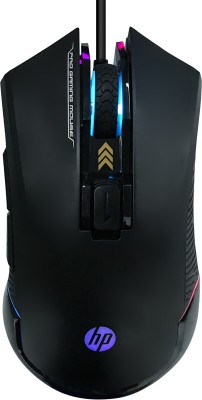 HP G360 Wired Optical  Gaming Mouse (USB 3.0, Black)