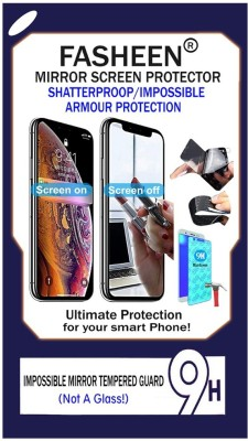 Fasheen Tempered Glass Guard for Lava Iris 406q(Pack of 1)