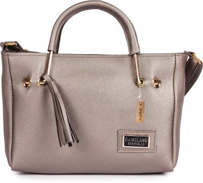 Dextro Silver Hand held Bag