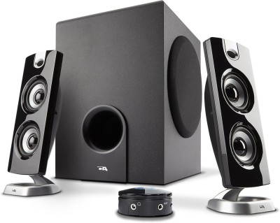 Cyber Acoustics Computer Speaker with Subwoofer 62 W Bluetooth Laptop/Desktop Speaker(Black, 2.1 Channel)