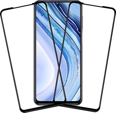 Micvir Edge To Edge Tempered Glass for Poco M2 Pro, Mi Redmi Note 9 Pro, Mi Redmi Note 9 Pro Max(Pack of 2)
