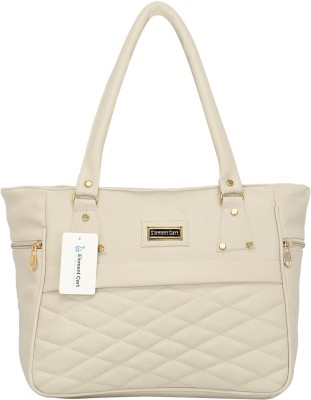 Element cart Women White Shoulder Bag