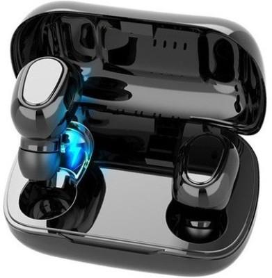 MI-STS In the Ear Single Ear TWS-L21 Headphone Wireless Earphone Bluetooth Headset(Black, True Wireless)