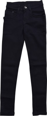 Nifty Slim Girls Black Jeans Nifty Kids' Jeans