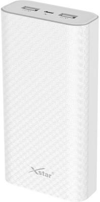 xstar 20000 mAh Power Bank White, Lithium Polymer