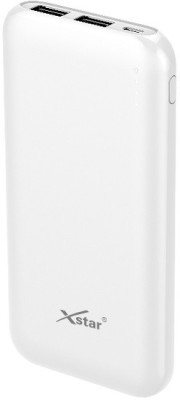 xstar 10000 mAh Power Bank White, Lithium Polymer