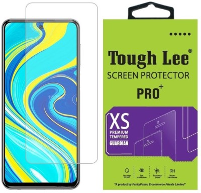 Tough Lee Tempered Glass Guard for Poco M2 Pro, Mi Redmi Note 9 Pro, Mi Redmi Note 9 Pro Max(Pack of 1)