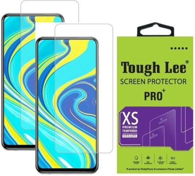 Tough Lee Tempered Glass Guard for Poco M2 Pro, Mi Redmi Note 9 Pro, Mi Redmi Note 9 Pro Max(Pack of 2)