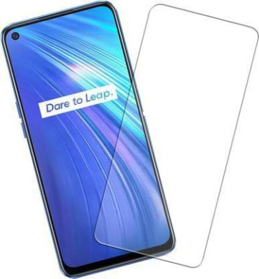 BK JAIN ACCESSORIES Tempered Glass Guard for REALME 6(Pack of 1)