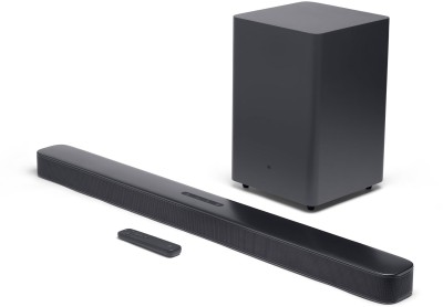 JBL Bar 2.1 Deep Bass 300 W Bluetooth Soundbar(Black, 2.1 Channel)