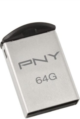 PNY P-12270-MM2-IN 64 GB Pen Drive(Silver)