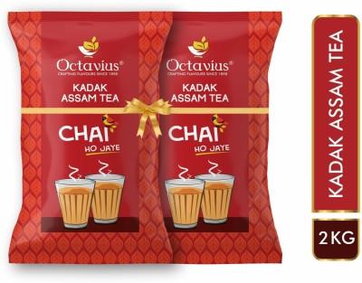 Octavius Kadak Assam CTC Tea Pouch  (2 kg)