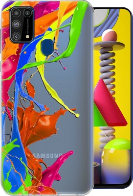 Flipkart SmartBuy Back Cover for Samsung Galaxy F41, Samsung Galaxy M31(Multicolor, Shock Proof, Silicon)
